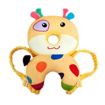 Toddler Backpack class Toddler Baby Play Mats Head Protection Pad Cartoon Anti-Crash Walking Assistant Headrest pillow Prevent Fall Down backpack Mat AT_50_3