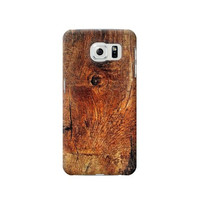 P1140 Wood Skin Graphic Phone Case For Samsung Galaxy S6 edge