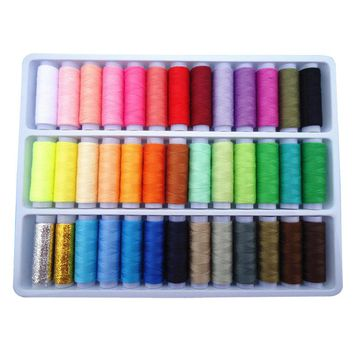 39 color manual 402 sewing thread/hand sewing thread matching /39 fixed color 16 gold tail needles