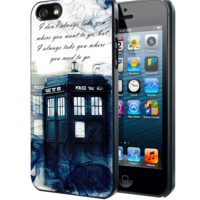 Tardis Doctor Who Smoke Quotes Samsung Galaxy S3 S4 S5 Note 3 , iPhone 4 5 5c 6 Plus , iPod 4 5 case
