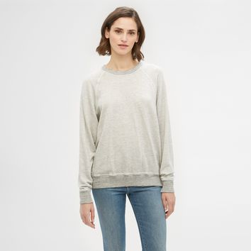 The College Sweatshirt - Heather Grey