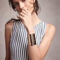 Vicente Cuff by Anthropologie in Gold Size: One Size Bracelets