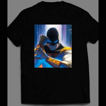 CULT CLASSIC SPACE GHOST VARIANT COMIC BOOK FRONT COVER T-SHIRT