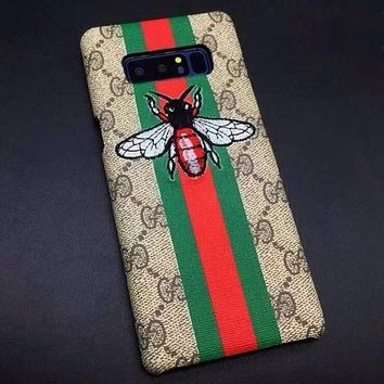 GUCCI Embroidery Fashion SAMSUNG Galaxy Cover Case For Note8