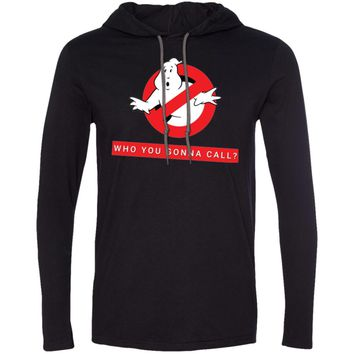 Ghostbusters who you gonna call1-01 987 Anvil LS T-Shirt Hoodie