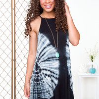 Cambri Tie-Dye Dress