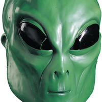 costume mask: alien green mask