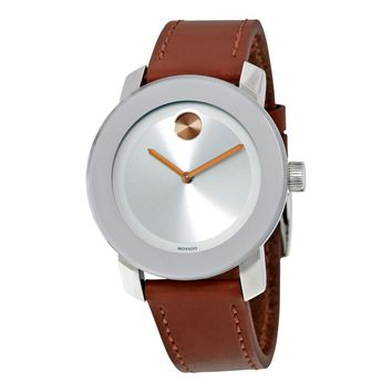 Movado Bold Stainless Steel Unisex Watch 3600379