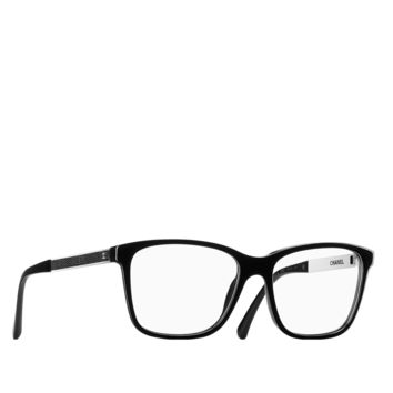 Square galuchat and acetate eyeglasses... - CHANEL