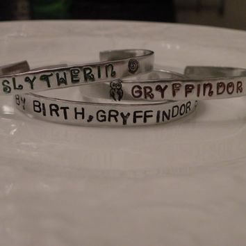 Harry Potter Stamped Gryffindor Slytherin Muggle by Serenitystorms