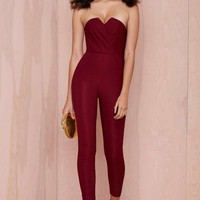 Nasty Gal Suspicious Minds Jumpsuit