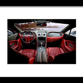 Sports Car - Framed Print