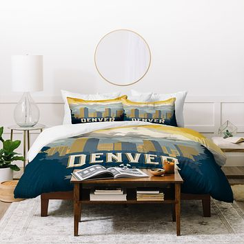 Anderson Design Group Denver 1 Duvet Cover