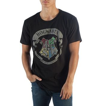 MPTS Harry Potter Hogwarts Blk T-Shirt