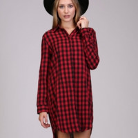 Check It Out Checkered Dress