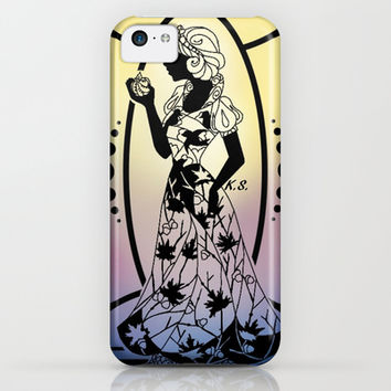 Silhouette Snow White iPhone & iPod Case by Katie Simpson
