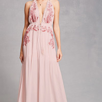 Soieblu Embroidered Maxi Dress