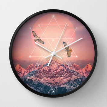 Find the Strength To Rise Up Wall Clock by Soaring Anchor Designs