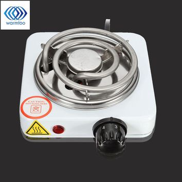 500W  Burner Electric stove Hot Plate kitchen portable coffee heater Design l Hotplate Cooking Appliances