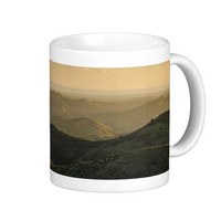 Mug: Rolling Mountain Classic White Coffee Mug
