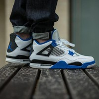 Best Deal Online Nike Air Jordan Retro 4 Motorsport 308497-117