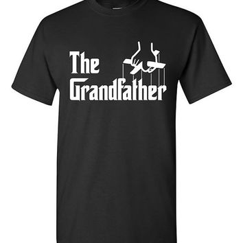 The Grandfather Funny T-shirt Tshirt Tee Shirt Dad Joke Grandpa Birthday Godfather Parody present Fathers day gift Papa Movie Film Christmas