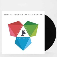 Public Service Broadcasting - Inform Educate Entertain LP- Black One