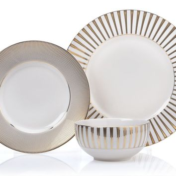 Luna Dinnerware - Sets of 4 | Live In Color Dining6 | Dining Room | Inspiration | Z Gallerie