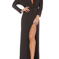 Penelope Evening Gown - Black
