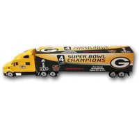 Super Bowl 45 4X Champions Green Bay Packers Tractor Trailer