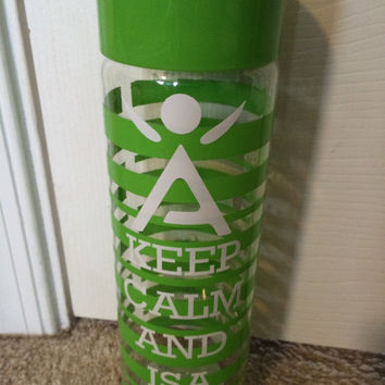 Isagenix Keep Calm Water Bottle
