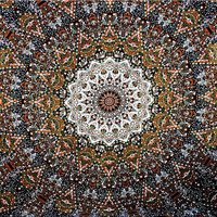 Star Elephant Tapestry Wall Hanging Star Wall Art Universe Mandala Tapestry Queen Bohemian Tapestries Printed Fabric Beach Blanket