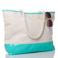 Bag from Shoedazzle for the beach