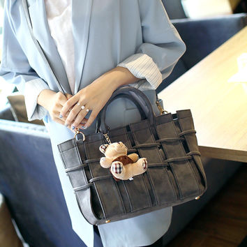 Korean Stylish One Shoulder Bags Ladies Tote Bag [6582741063]