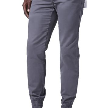 Vans Excerpt Pegged Jogger Chino Pants - Mens Pants - Gray