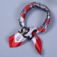 Small Square Satin Silk Bandana Scarf 50*50 cm