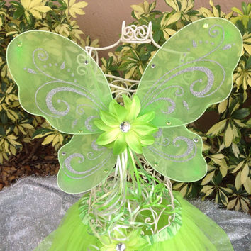 Tinkerbell Wings, Green Fairy Wings, Tinkerbell Costume, Fairy Costume, Fairy Party, Tinkerbell Birthday Party, Fairy Wings, Fairy Princess