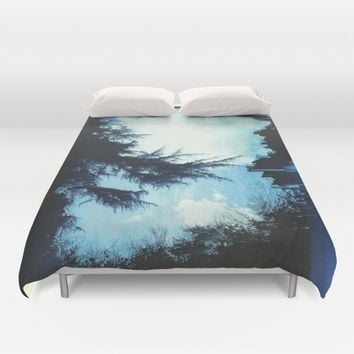 In the Wind Duvet Cover by Ducky B