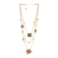 Betsey Johnson Oversized Illusions Multi Long Necklace Multi - Zappos.com Free Shipping BOTH Ways
