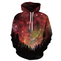 Space Galaxy Sweatshirt Hoodies 3D Print Hip Hop Coats Casual Sweatshirt Sportwear Tops anime fleeces Hoodies