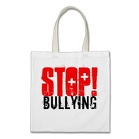 STOP BULLYING TOTE BAGS