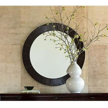 Brownstone Furniture Townsend Large Round Mirror