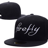 RHXING Firefly Logo Adjustable Snapback Embroidery Hats Caps