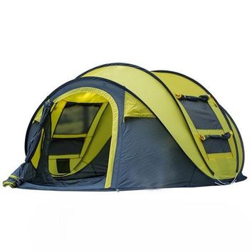3-4 Person Windproof Waterproof Camping Tent
