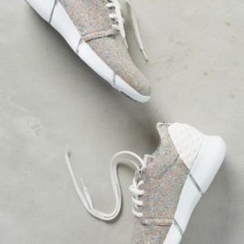 Elena Iachi Calu Shimmered Sneakers Silver