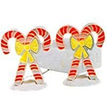 Candy Canes: Brite Lites Lighted Village Accessory