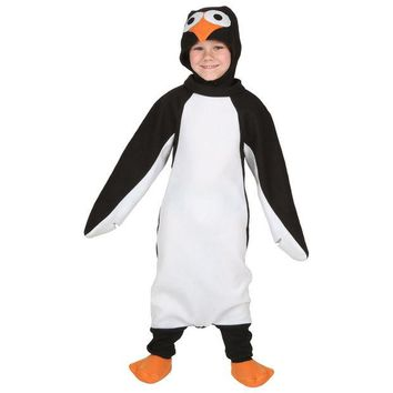 DCK9M2 Toddler Happy Penguin Costume Baby Animal Cosplay Party Carnival Fantasia Fancy Dress