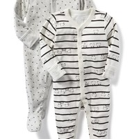 Footed Sleeper 2-Pack for Baby |old-navy
