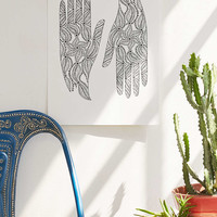 Shelley Weir Hands Art Print - Urban Outfitters