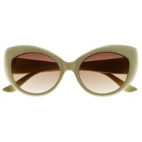 Waldorff's: Vintage Inspired Bold RetroCat Eye Sunglasses $5.94